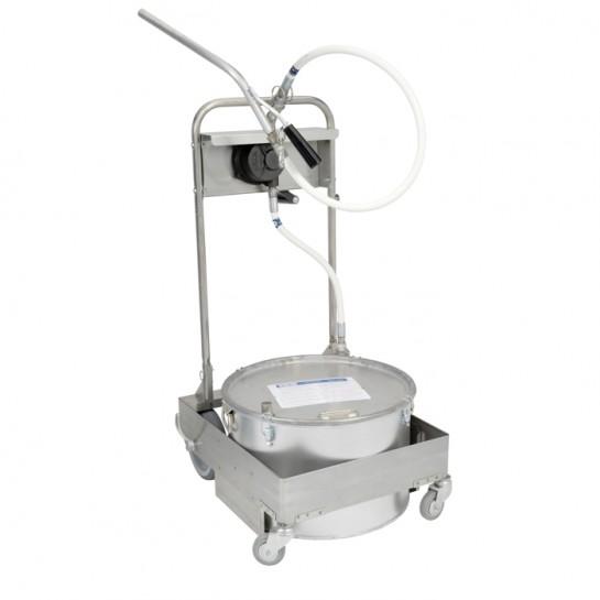 filtre + transport d'huile : friteuse 28L, machine à pompe manuelle